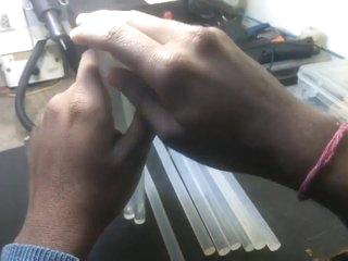 DIY Sex Toys How to Make a Dildo with Glue Gun Stick