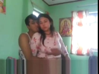 Nepali couple in hotel