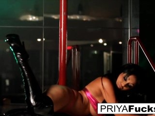 Priya Rai in Strip Club Performance By Indian Bombshell Priya Rai - PriyaRai