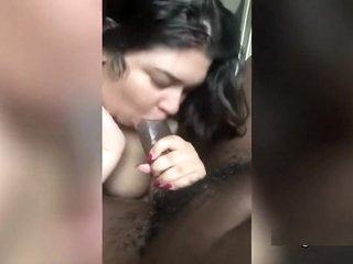 Chubby Indian Girl Loves Sucking BBC