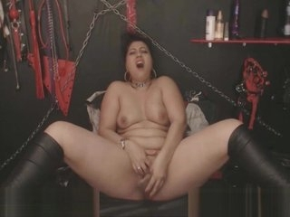 Chubby Indian Loves Rough Self Fucking
