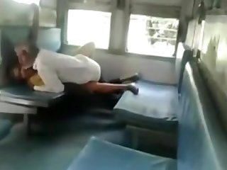 Indian Men Sex In A Train