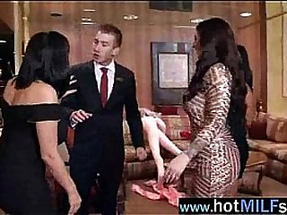 Hot Sex Scene Action With Big Cock Stud Banged By Busty Milf (india summer) vid-16