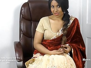Horny South Indian sister in law roleplay in Tamil with subs