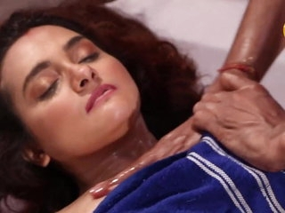 Indian girl massage and fucking hard
