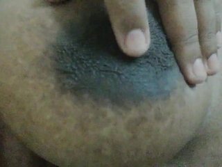 Too horny in quarantine so I had to pinch my nipples hard and get some panties wet with nipple orgasms