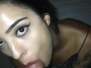 Indian Desi Girl Handjob, Mouthjob, handjob