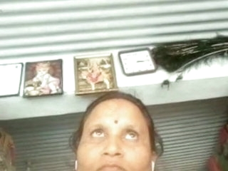 Aunty watching me jerking off part 3