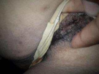 Juicy wet pussy fingering